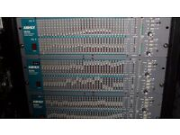 Ashly 3012 third octave graphic equalizer