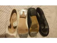 Children tap shoes