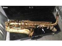 Jupiter500 alto saxophone with selmer mouthpiece