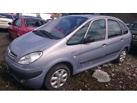 2002 CITROEN PICASSO XSARA SX 8V, 1.6 PETROL, BREAKING FOR PARTS ONLY, POSTAGE AVAILABLE NATIONWIDE