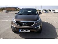 Left hand drive 2011 Kia Sportage 2.0 petrol Automatic 6 speed AWD (AVAILABLE MID MARCH)