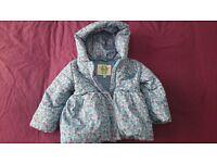 Girls BHS 12-18 months coat