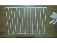 BABYSTART Extending Metal Wall Fix Safety Gate For Spaces Measuring 60-97cm Wide New & Boxed