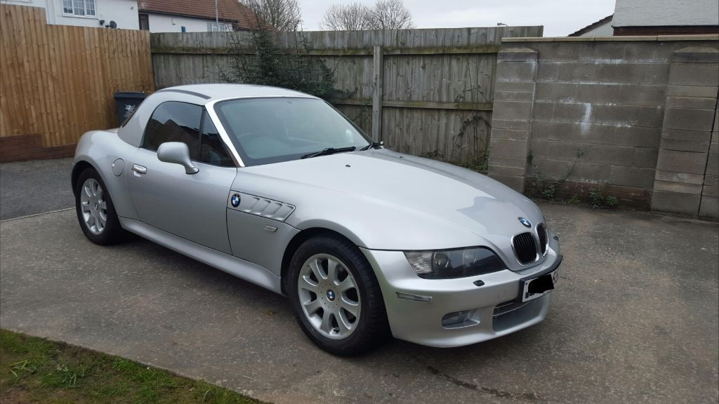 bmw z3 roadster hardtop convertible 2001 2 2 2 8 3 0 in st mellons cardiff. Black Bedroom Furniture Sets. Home Design Ideas
