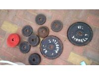 Iron casted weight plates