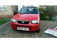 Suzuki Alto GL 2004 £30 per year road tax ..£450 o.n.o