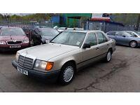 1989 (F Reg) Mercedes-Benz 230 2.3 E 4dr FOR £995 (MOT: 10/07/2017) & 3 MONTHS WARRANTY