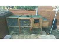 Large chicken coup rabbit cage