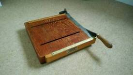 Quirky chopping board / guillotine / monitor stand