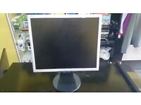 "17"" NEC MULTISYNC LCD FLAT TFT MONITOR DISPLAY SCREEN"