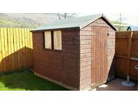 8x6 Wooden Garden Shed