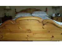 Pine Kingsize Bed Frame