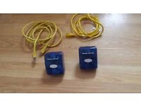DEVOLO MicroLink dLAN duo MAINS ETHERNET & USB UNITS (PAIR)