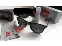 MATTE BLACK RAYBANS WAYFARES BARGAIN SUNGLASSES COLLECTION + PAYPAL WELCOME laptop