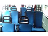 Mini bus seats from Peugeot Boxer from Red Kite