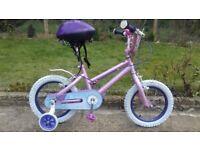 "KIDS GIRLS CHILDREN DISNEY 14"" WHEEL AGES 3-6 BIKE BICYCLE"