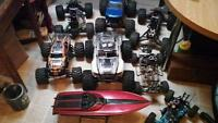 Large Quantity Of RC'S For Sale