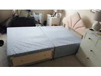 3/4th Bed with Mattress - GOOD CONDITION