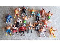 Vintage WWF action figures (1990's)