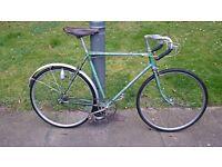 Very rare 1948 Raleigh Lenton Clubman Reynolds 531 road bike