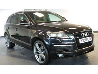 2006 56 AUDI Q7 3.0 TDI QUATTRO S LINE 5D AUTO 234 BHP DIESEL *2 YEARS WARRANTY*FINANCE AVAILABL