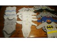 Baby boy first size clothes bundle