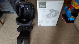 Black Joie Carseat - Car Seat in original box.