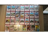 Collection of 28 packs of Top Trumps cards