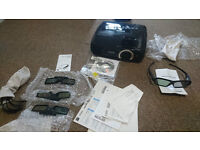 Epson EH-TW5200 3D Projector with 4 sets of 3D Glasses