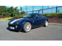 Smart Roadster 0.7 Convertible - FSH - Flappy Paddles - Original Luggage Rack!