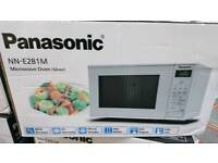 Brand new boxed Panasonic microwave /800 watt/silver