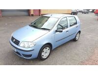2004 Fiat Punto Active 1.2 Petrol 5 Door Full Service History 1 Year MOT Only Done 64000 Miles..