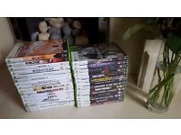 for sale 30 pcs xbox 360 games