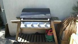 Four Burner Gas BBQ