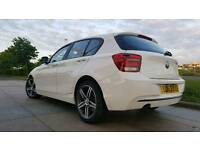 2013 63 BMW 116D SPORT 2 LITRE TWIN TURBO DIESEL CHEAP ROAD TAX ONLY £30 A YEAR
