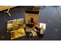 """Xbox 360 500GB, 19"""" Murphy DVD TV, 8 games, 2 controllers, 1 month free Xbox Live"""