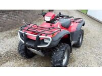 2007 Honda Foreman TRX500 Manual 4x4 Farm Quad