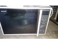 Sharp microwave with grill and oven 900w