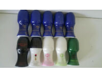10 x Assorted Avon Roll-on Deodorants