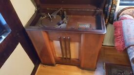 1950's ALBA radiogram. Purchased new, been a good old gal