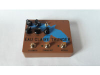 Dwarfcraft Devices EAU CLAIRE THUNDER fuzz distortion boutique effects pedal. Mint condition.