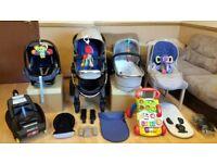 iCandy Peach 3 Pushchair Pram Stroller Travel System Maxi Cosi Car Seat, Easyfix Base & More