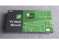TV Wall Mount for TV's up to 39''/20kg. Tilt. Brand New In Box