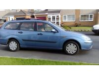 2002 Ford Focus Estate 'For Spares or Repair'