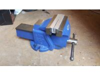 "rwin Record Bench Vice 6"" Opening (6 Tonne model)"