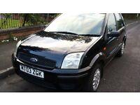 2003 ford fusion 1.4 black long mot,bargain £525