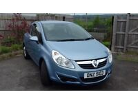2010 1.0 vauxhall corsa only 41000 miles £30 road tax
