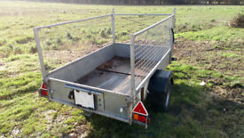 Ifor Williams P6e livestock trailer car lots new parts quad camping mesh sides loading ramp