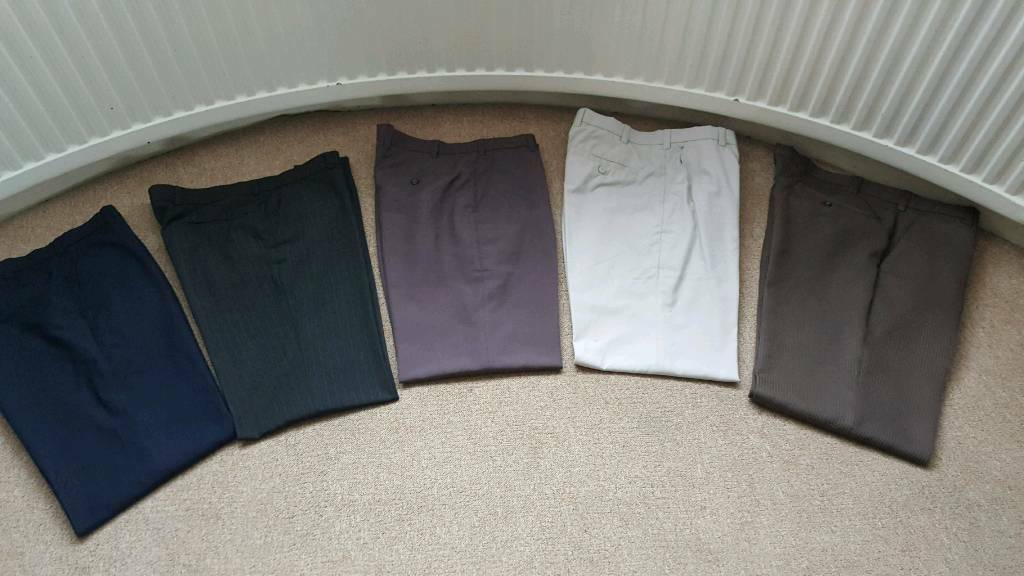 Office trousers 34w regular leg 31