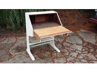 Vintage Painted Shabby Chic Bureau Chid's Desk